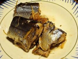 梅干し秋刀魚1024